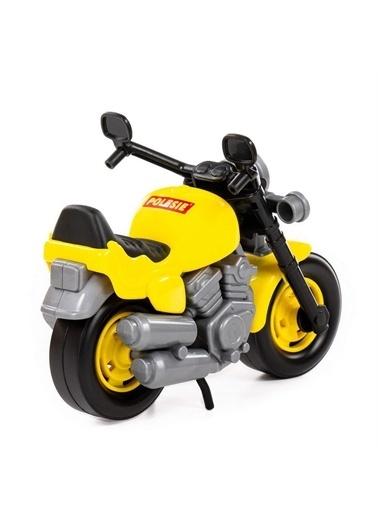 Polesie Polesie 8978 Oyuncak Yarış Motosiklet Bike Sarı Renkli